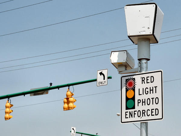 File photo. Oregon municipalities can now use their red-light cameras to ticket speeders.
