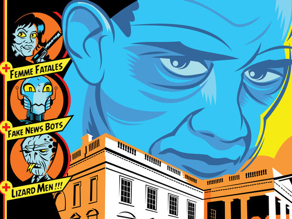 Cover detail from <em>The Obama Inheritance</em>, edited by Gary Phillips