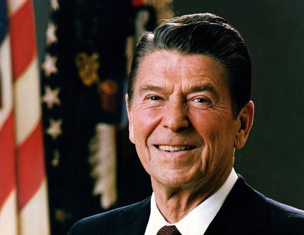 President Ronald Reagan is pictured in a 1981 portrait.