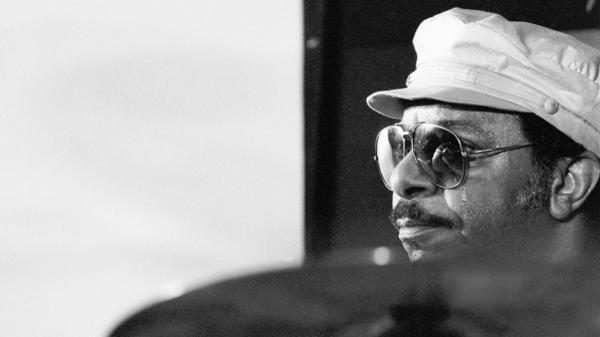 Grady Tate performs on stage at the Jazz Mobile Festival on Sept. 5, 1982, in Amsterdam.