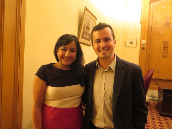 Nitasha Metha and Max Dworin