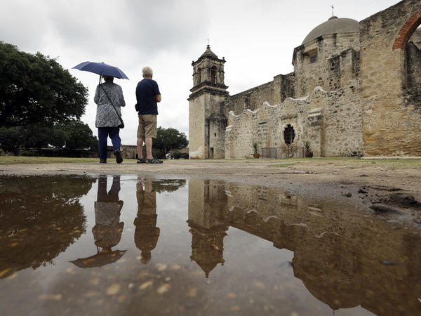 """Mission San Jose, one of five missions in San Antonio, Texas, designated by UNESCO as a World Heritage Site. The cultural aid agency has designated more than 1,000 such sites around the world — including more than 20 in the U.S. — to celebrate their """"outstanding universal value."""""""