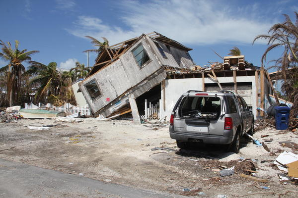 More than 600 homes in the Keys were found to be destroyed. The majority of them were on Big Pine Key.