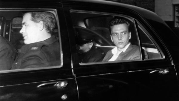 Ian Brady, seen here in police custody prior to a court appearance, was sentenced to life in prison after killing five children.