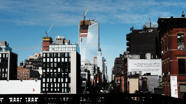 New buildings, a mix of residential and office space, stand on the Upper West Side of Manhattan, which has seen a surge of development in recent years. The long-neglected area includes the Hudson Yards, the largest private real estate development in U.S. history.