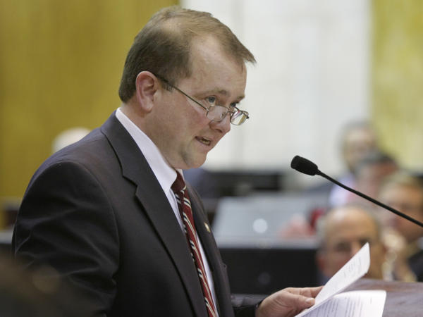 Former Arkansas state Rep. David Dunn, shown in a 2009 photo, was one of five Democrats on the President Trump's commission investigating voter fraud.