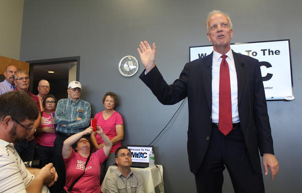 U.S. Sen. Jerry Moran was one of nine GOP senators who voted against a bill to replace the Affordable Care Act. Moran said after the vote that he supports a bill that would give Congress up to two years to work on a bipartisan replacement.