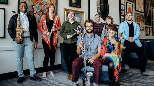 The GVSU New Music Ensemble's new album, <em>RETURN</em>, features compositions from former Grand Valley State University students.
