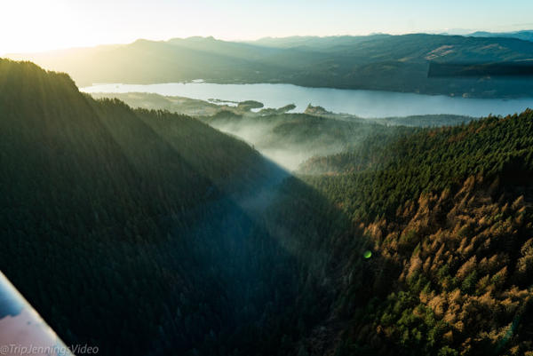 <p>The Eagle Creek Fire ripped through the Columbia River Gorge in the beginning of September. All the major and historic structures have been spared by the flames. But the wildfire has claimed more than 48,000 acres. What some of Oregon's famous natural landmarks look like from the ground-level remains unknown.</p>