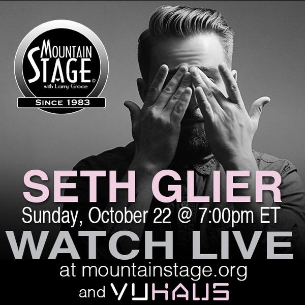 "Seth Glier makes his second appearance on Mountain Stage this Sunday, with songs from his latest album ""Birds."""