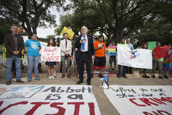 """U.S. Rep. Lloyd Doggett said the """"sanctuary cities"""" law will discourage immigrants from reporting crimes."""
