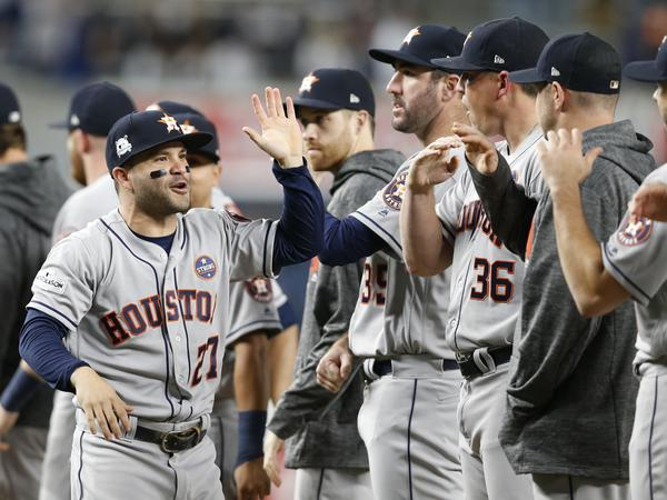 Houston Astros' Jose Altuve has energized a city that's still suffering the effects of a devastating hurricane.