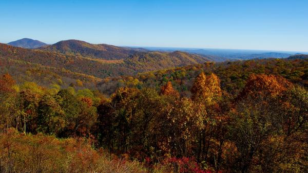 Virginia's Shenandoah National Park is one of 17 popular parks that would see higher peak-season entry fees under a new proposal.