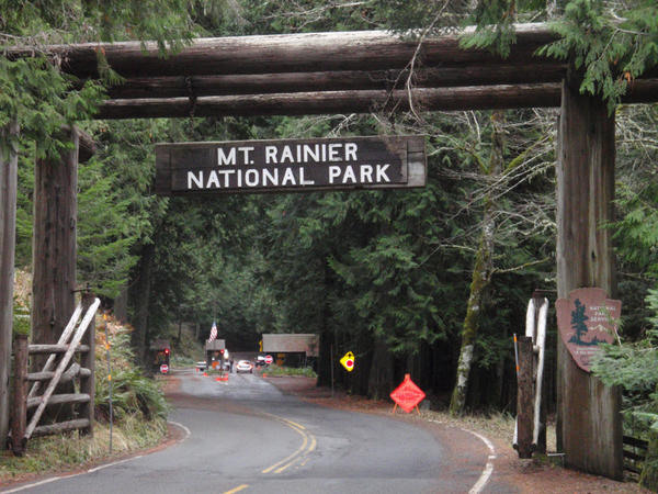 File photo. Entrance fees at Mount Rainier National Park could nearly triple next year.