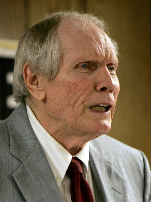 Fred Phelps is the head of the Westboro Baptist Church, which has picketed funerals of public figures and soldiers killed in war.