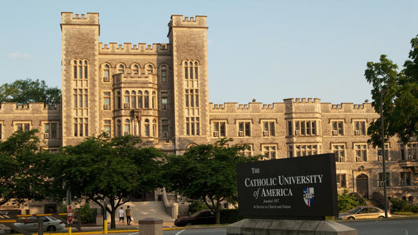 Gibbons Hall at Catholic University of America in Washington, D.C., will be  switching from co-ed dorms to single-sex dorms in the fall.