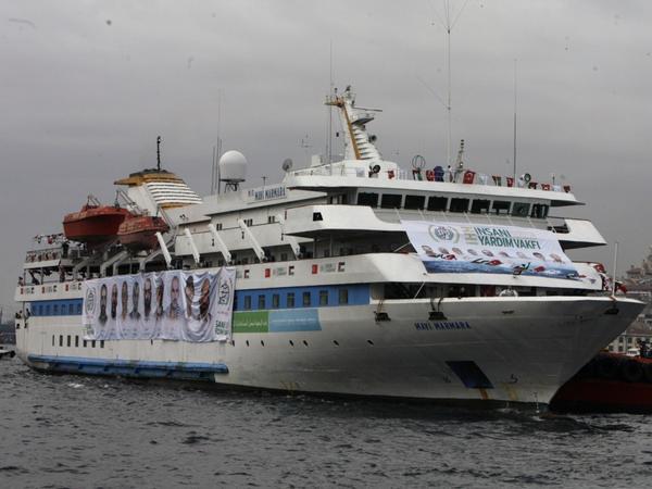 The Mavi Marmara ship was the lead boat in a flotilla headed to Gaza last year. Israeli naval commandos raided the ship in May 2010.