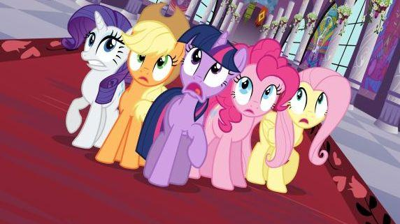 <p>My Little Pony is a Hasbro toy, but it's also a Discovery/Hasbro TV show on The Hub.</p>