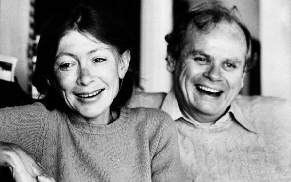 "<p>Joan Didion and John Gregory Dunne, pictured above in 1977, were married for nearly 40 years. Didion writes about his death in <a href=""http://www.npr.org/books/titles/138331636/the-year-of-magical-thinking"">The Year of Magical Thinking</a>.</p>"