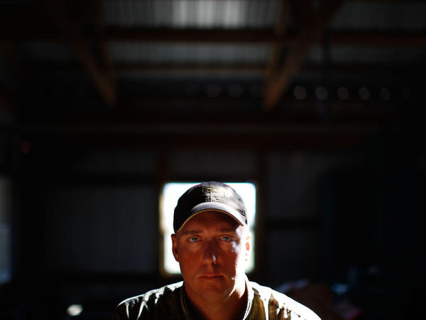 Jesse Beck, the environmental manager for the Ponca tribe, helped with the tribe's lawsuit against Continental Carbon.