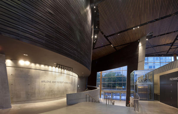 Arena's new Kogod Cradle — one of the newest and warmest theater spaces in D.C. — is a 200-seat house designed to provide a venue for new plays.