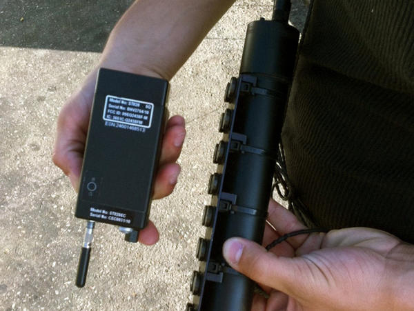 The Supreme Court considers whether GPS monitoring devices like this one may be affixed to suspects' cars without a warrant from a judge.