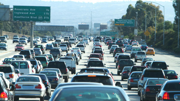 Los Angeles is no stranger to traffic jams and road rage.