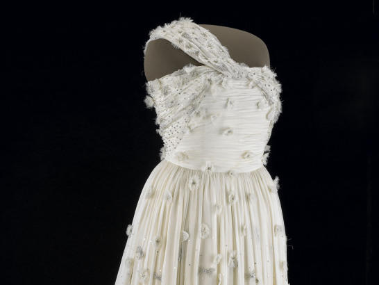 First lady Michelle Obama's inaugural gown.