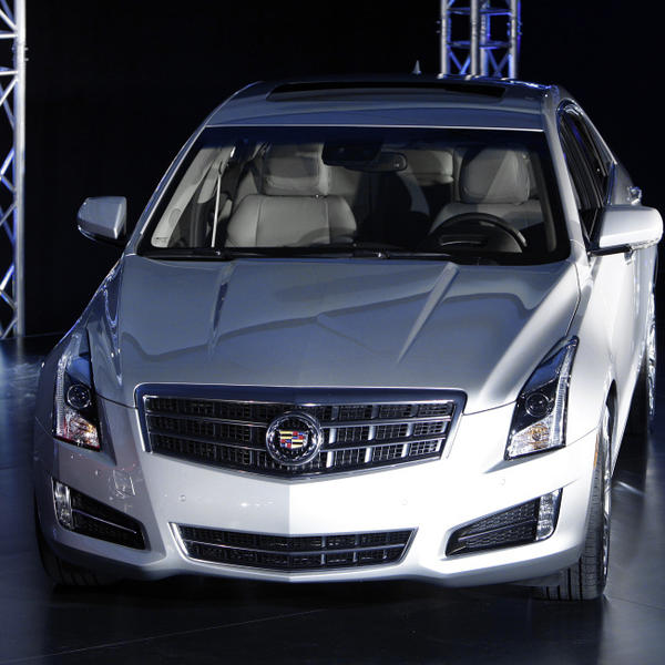 The 2013 Cadillac ATS made its debut prior to the North American International Auto Show in Detroit on Sunday, Jan. 8.