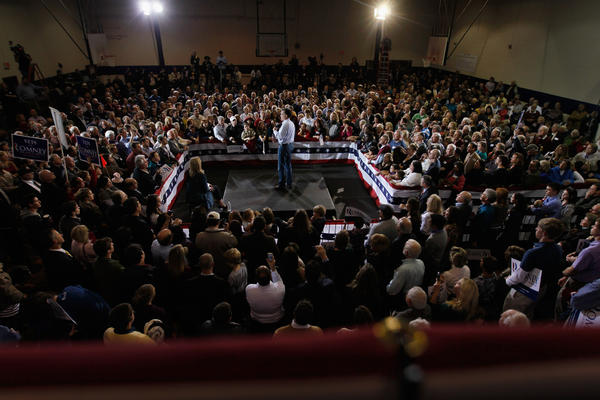 Mitt Romney speaks during a campaign stop at Seven Oaks Park this week in Irmol, S.C. Jobs are likely to be an important issue for South Carolina voters in Saturday's primary, with the state's unemployment rate at 9.9 percent.