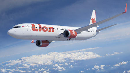 An artist rendering depicts a Boeing 737 MAX 9. Lion Air of Indonesia has agreed to become the first commercial customer for the plane.
