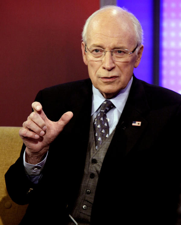 Dick Cheney is interviewed in New York in August 2011. The former vice president is recovering after having heart transplant surgery on Saturday.