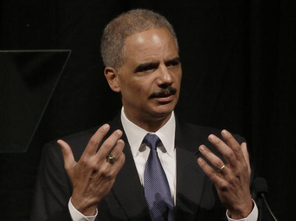 U.S. Attorney General Eric Holder said human trafficking will not be tolerated in the U.S. during a speech at the Clinton School of Public Service in Little Rock, Ark., on Tuesday.
