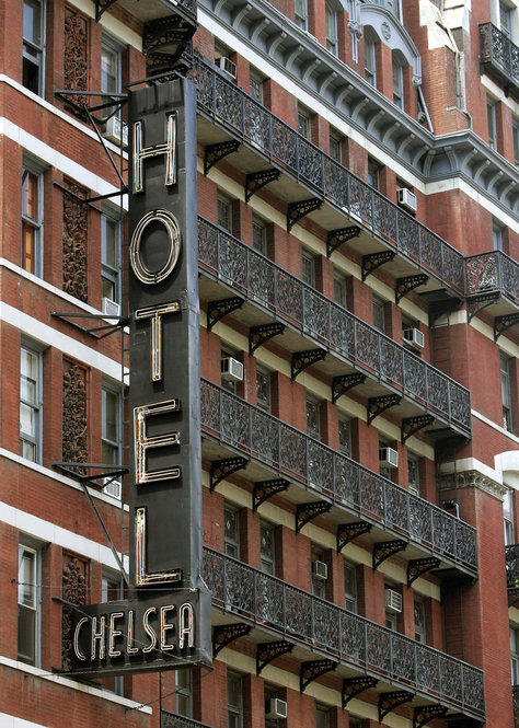"Sherill Tippins has spent six years writing a book about the hotel. The Chelsea, she says, ""has a spirit of its own. ... I don't think you can defeat this building."""