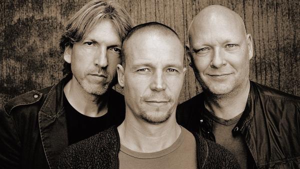 E.S.T. was Esbjorn Svensson, Dan Berglund and Magnus Ostrom.