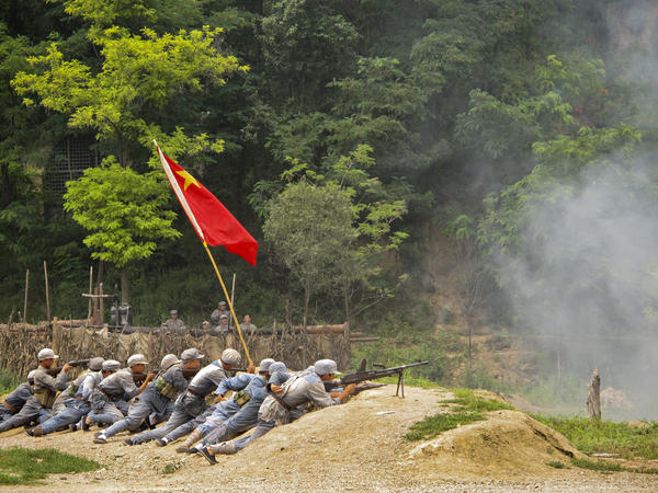 "Tourists can dress up and take part in ""The Defense of Yan'an,"" a re-enactment of a 1947 Chinese Civil War battle to protect the revolutionary base from the Nationalists, who fled to Taiwan."