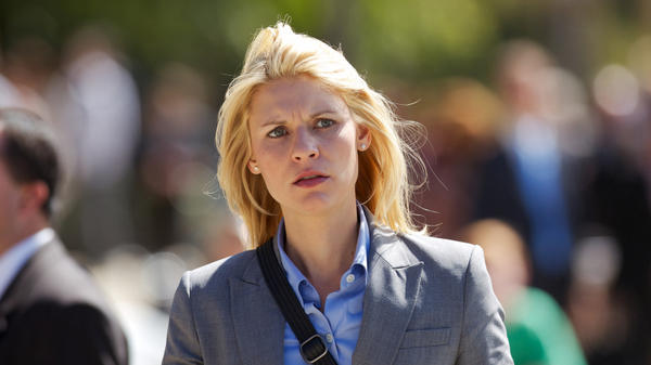Claire Danes plays Carrie Mathison on Showtime's <em>Homeland.</em>