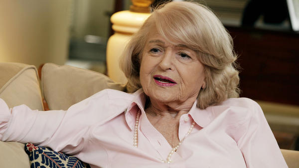 Edith Windsor in her New York City apartment in December 2012. Next week, the U.S. Supreme Court hears her challenge to the 1996 Defense of Marriage Act.