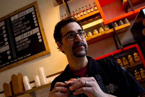 Barry Koslow worked as a chef cooking other cuisines before turning his talents to his cultural roots.
