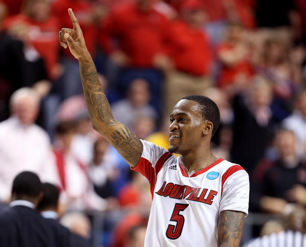 Kevin Ware of the Louisville Cardinals.