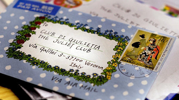 The Juliet Club <em>(Club di Giulietta)</em> receives more than 6,000 letters letters of heartbreak and unrequited love a year. Some envelopes include the club's address; others simply say To: Juliet.