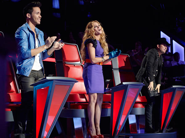 <em>La Voz Kids</em>' coaches include Dominican-American singer-songwriter Prince Royce, Mexican pop star Paulina Rubio and Mexican-American singer Roberto Tapia.