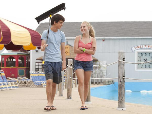 Duncan's summer is filled with awkward — and often adult-initiated — situations involving the girl next door (Annasophia Robb).
