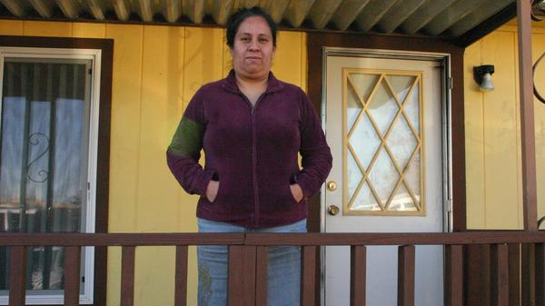 Guadalupe Chavez moved to a trailer home in Oregon after her sexual assault case went to trial in California.