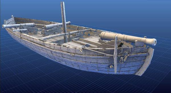 "Even visitors to the National Museum of American History in Washington, D.C., can't see the <a href=""http://3d.si.edu/explorer?modelid=47"">Gunboat Philadelphia</a> from every angle. But online, viewers can flip the boat in every possible direction using the Smithsonian Institution's new 3-D viewer."