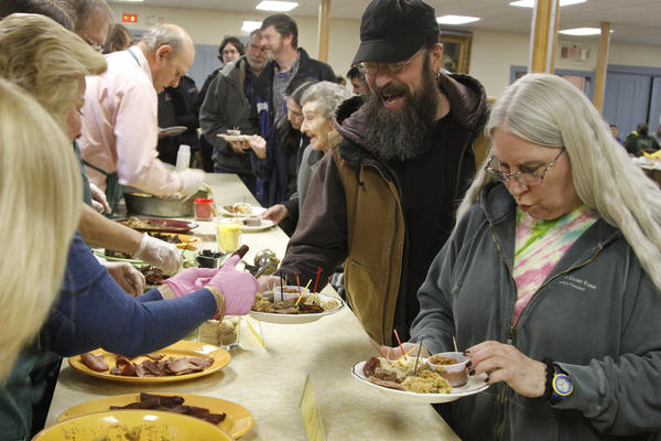 Adventurous carnivores from all over New England have been flocking to the Wild Game Supper in Bradford, Vt., for almost 60 years. The fare at this year's event included beaver, boar, moose and buffalo.