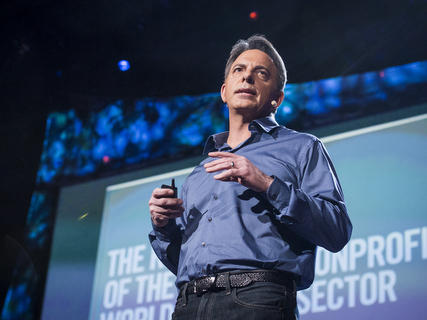 Dan Pallotta at the TED conference in 2013.