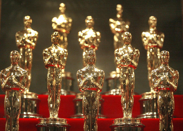 This year's Oscars will be given out at the 87th Academy Awards on Sunday night. At O'Brien's Pub in Santa Monica, Calif., pub trivia regulars — including many former game show champs — had their own competition, answering harder-than-average questions about Academy Awards past and present.