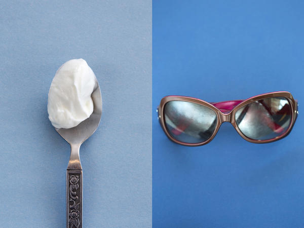 If you want to take advantage of all that calcium in yogurt, you're going to need some vitamin D. So why not step outside to enjoy the creamy snack under the UV rays of the midday sun?