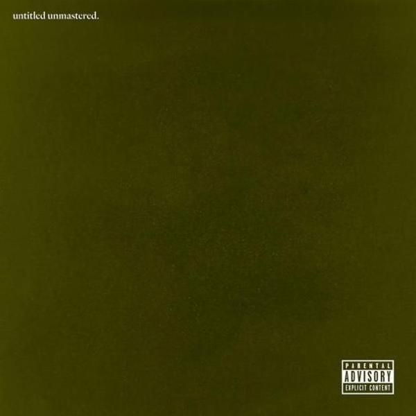 The cover of Kendrick Lamar's <em>untitled unmastered. </em>project.
